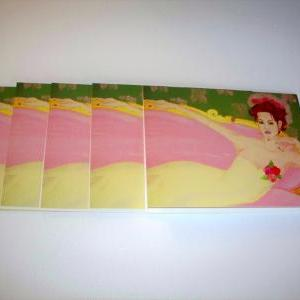 Set of 5 Note Cards and envelopes